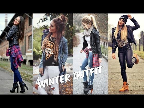 MODA OTOÑO INVIERNO 2018 | ROPA DE MODA 2018 | Las Mejores Combinaciones para Mujer | winter Outfit