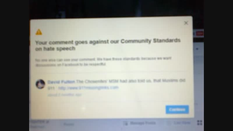 93 FACE BOOKs HATE SPEECH POLICY is ANTI GENTILE