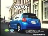 Toyota Corolla Runx  Commercial (Japan)