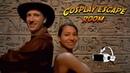 Indiana Jones and Lara Croft in Cosplay Escape Room
