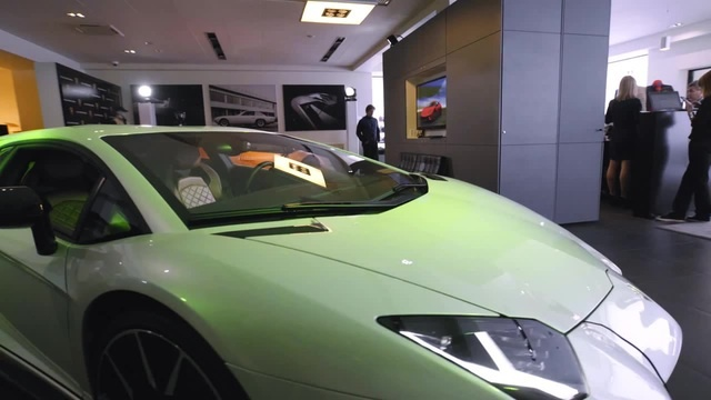 The new Lamborghini Huracan and Aventodor 4k