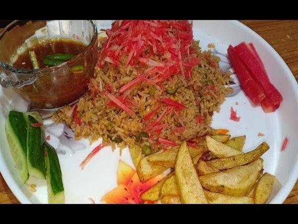 MATAR CHAWAL SALAD ALU CHIPS|MUKBANG EATING SHOW|NO TALKING JUST EATING|EATING SOUNDS|ASMR|FASTFOOD