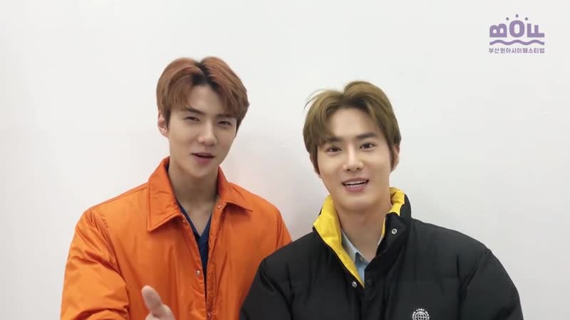 [VIDEO] 181018 EXO Sehun Suho @ Busan One Festival on Facebook Update.