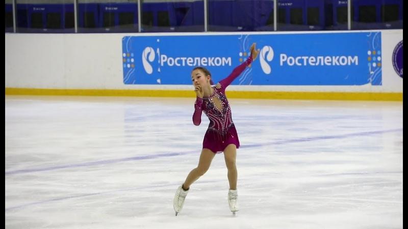 Софья Акатьева, КП, Мемориал Волкова, старшие (1сп), 2018-11-08