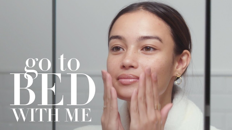 Victorias Secret Model Kelsey Merritts Nighttime Skincare Routine | Go To Bed With Me