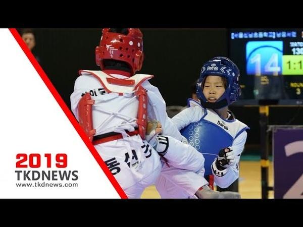 [카뎃선발전] 여자 -37kg급 결승 남궁서연(서울신남초) vs 정지희(창원동산초)