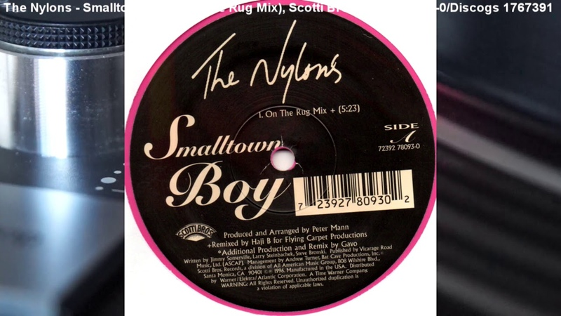 The Nylons - Smalltown Boy (On The Rug Mix) (1996)
