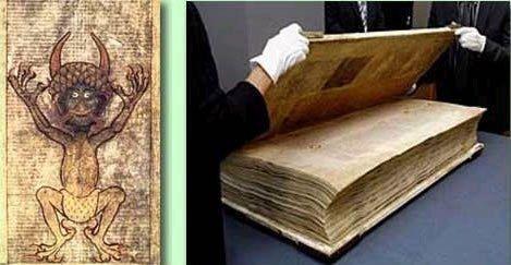 Оказывается, в мире есть не только общепринятая Библия, но и особая Библия Дьявола