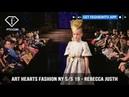 Art Hearts Fashion New York S S 2019 Rebecca JUSTH FashionTV FTV