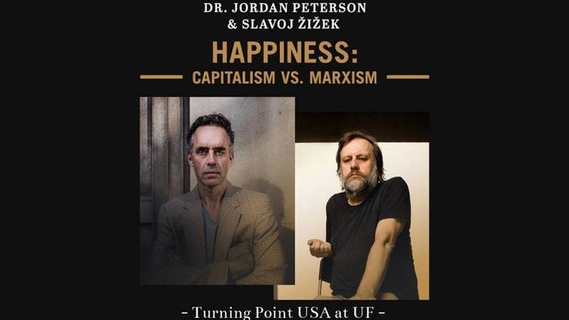 Dr. Jordan Peterson Slavoj Žižek - Happiness Capitalism Vs. Marxism debate