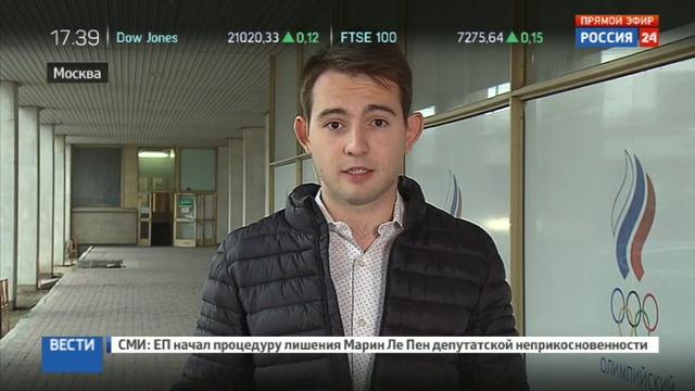 Новости на Россия 24 Александр Жуков надеюсь что сборная России в полном составе отправится на Олимпиаду