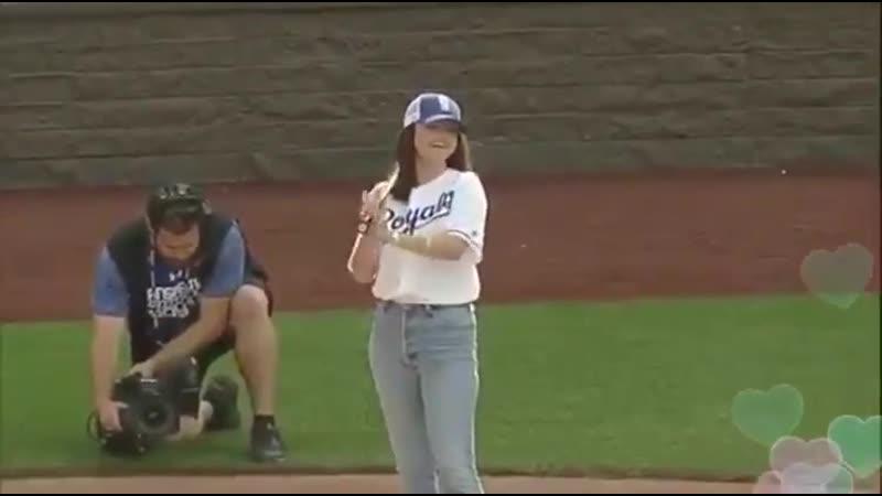 June 7 Selena Gomez at the Big Slick KC Celebrity Softball game in Kansas City Missouri
