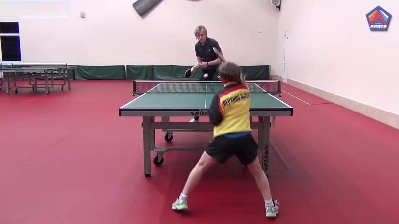 Обучение игре в настольный теннис Белгород