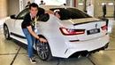 Новая BMW M340i – почти 400 л.с.! Тест-драйв на автодроме Алгарве или гоночный обзор!