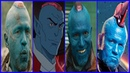Yondu Evolution in Movies and Cartoons (2018)