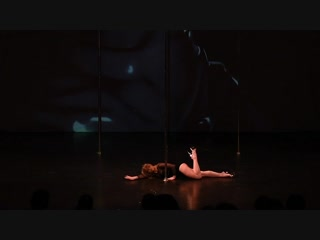 Миронова Ксения. Шоу Transformation - Pole Dance Style