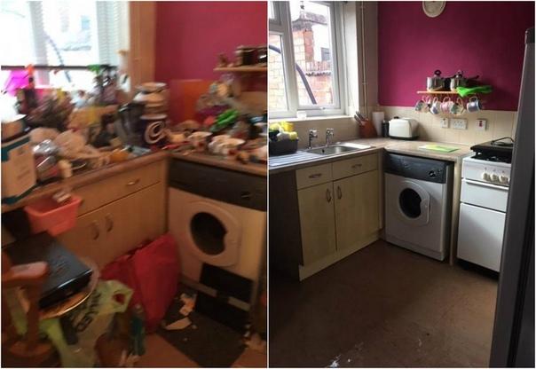 Сестры, занимающиеся уборкой, поделились фото со своей работы Анжела Уайт и ее сестра Ивонн Хэнкок из Стаффорда занимаются экстремальной уборкой. Они никогда не знают, какой ужас скрывается за