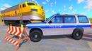 Мультики про машинки - Польские полицейские и хитрый воришка