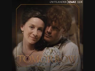 Only one day until we see what the OutlanderPremiere has in store for TheFrasers. Raise your hands if youre ready.