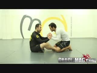 Marcelo Garcia. No-Gi X-Guard sweep