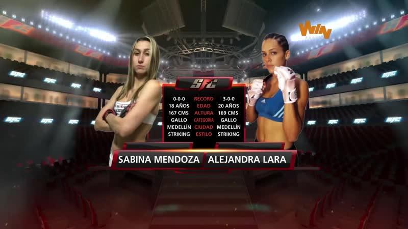 Sabina Mazo vs. Alejandra Lara [SFC 18 / 2015.03.26]