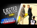 Steve Kerr Gets Tossed In a PRESEASON Game! Then Waves Bye For The Refs! FreeDawkins