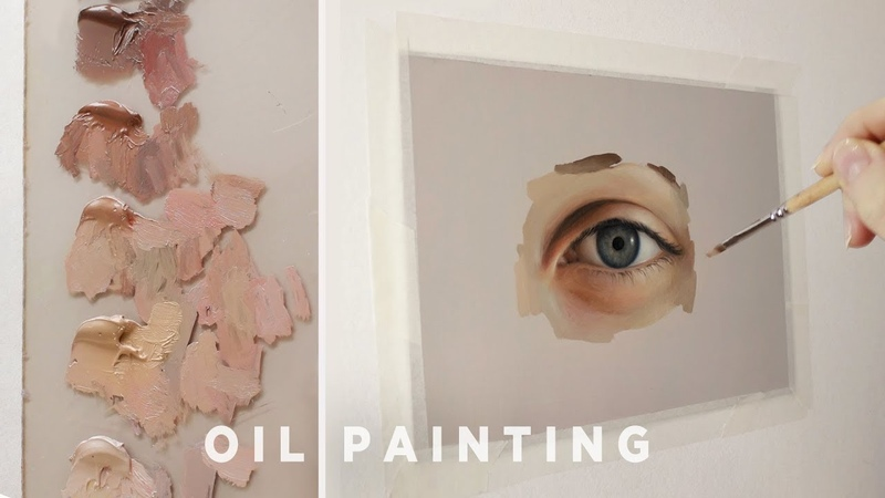 Oil Painting Tips || Color mixing, mediums, etc