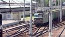 ВЛ10-878 с грузовым поездом и ЭД4м-0330