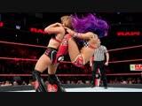 SB_Group Full match Sasha Banks, Bayley &amp Ember Moon vs. Mickie James, Alicia Fox &amp Dana Brooke Raw, Dec. 24, 2018