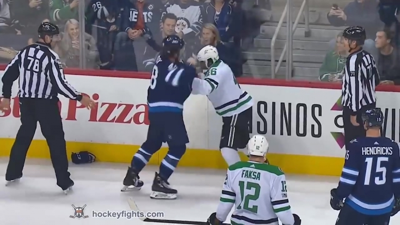 Gemel Smith vs Brendan Lemieux Nov 2, 2017