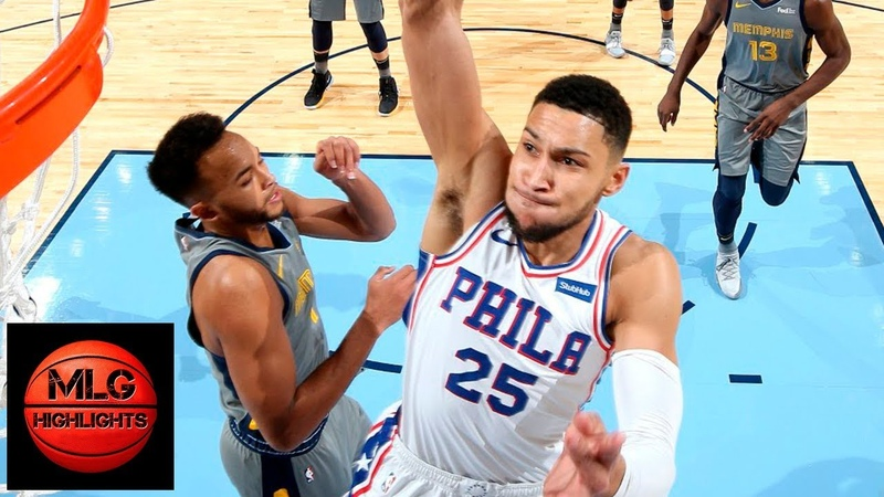 Philadelphia Sixers vs Memphis Grizzlies Full Game Highlights 11 10 2018 NBA Season