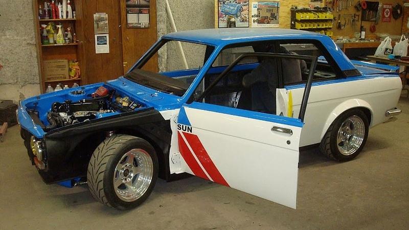 1972 Datsun 510 Build Project