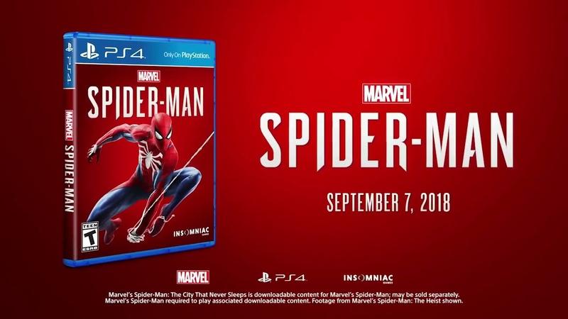 MARVEL'S SPIDER MAN The Heist Teaser Trailer DLC 2018 1