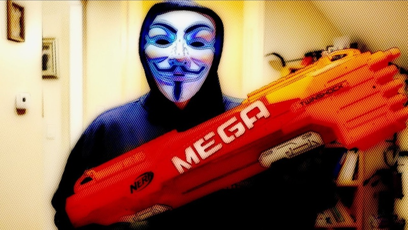 Nerf War: K Hunter vs. The Anonymous Hacker