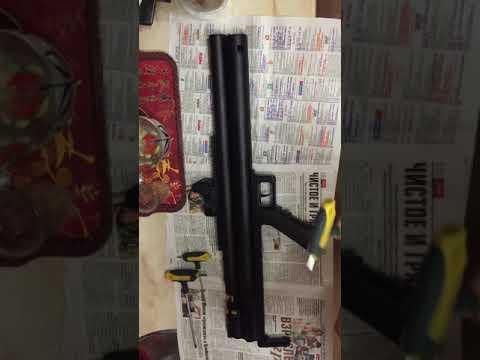 (Пока не знаю как перевернуть видео) Разборка-сборка основных частей винтовка Вальдемарыч