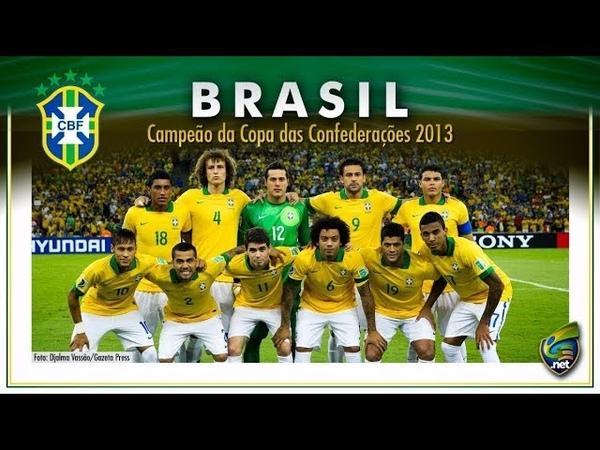 Todos os Jogos do Brasil na Copa das Confederações 2013