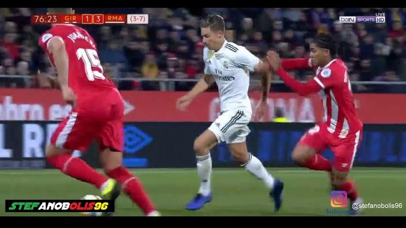 Llorente Goal ⚽ Girona Vs Real Madrid (Copa Del Rey 2019) ⚽ HD