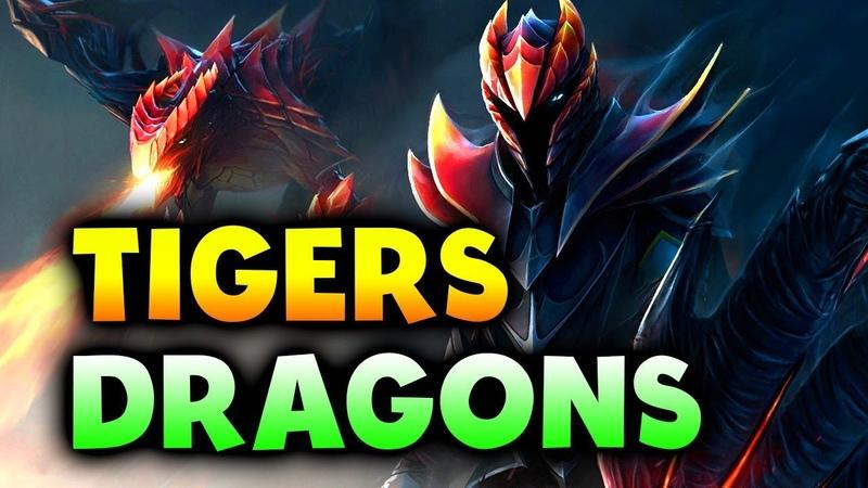 TIGERS vs DRAGONS - SEA OPEN FINAL - DreamLeague Minor DOTA 2