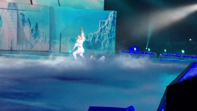Снежный Король шоу Евгения Плющенко ноябрь 2014 г Дуэт Снежного Короля Евгений Плющенко и Кая Джонни Вейр