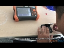 SPEEDWOLF 1310 1550nm 32 30dB OTDR 5 6inch Touch Screen 120KM 74 5mi Tester with VFL
