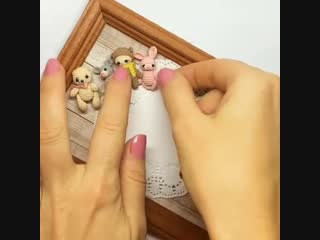 Мария Трунова — Миниатюрные игрушки амигуруми