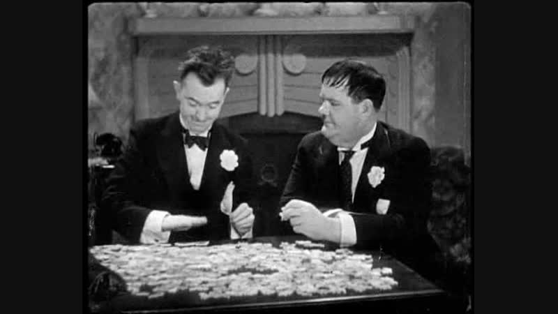 Laurel and Hardy - Me and My Pal - 1933