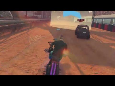 Arena War DLC: Поражение gta 6 (главная опасность для WD в гонке - мины)
