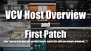 VCV Host Overview First Patch