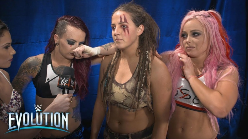 Video@kayroyce | Emotional Riott Squad vow to turn dreams into nightmares: WWE Exclusive, Oct. 28, 2018
