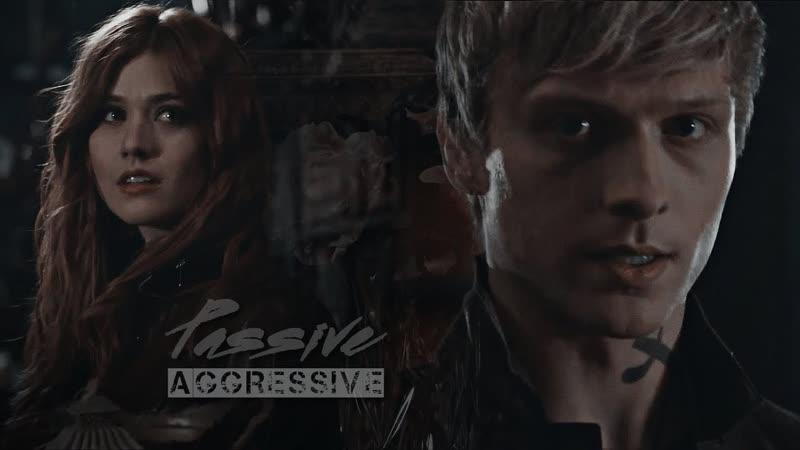 Clary and Sebastian ○ Passive-aggressive ○ Blue Rook