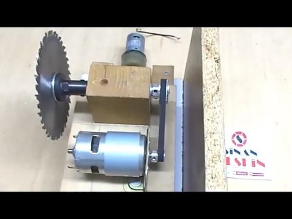 Table Saw Old video 1 Part Tezgah testere yapımı Tek parça