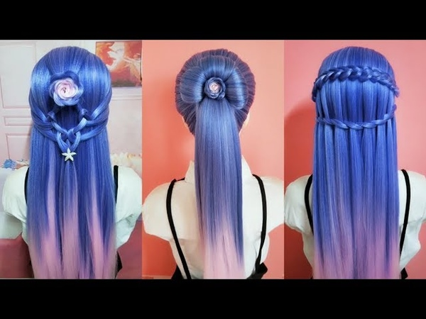 Top 30 amazing hairstyles ♥️ Hairstyles Tutorials ♥️ Easy hairstyles with hair tools