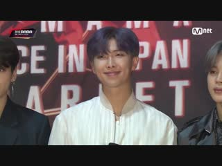 181212 bts @ 2018 mama fans' choice in japan red carpet