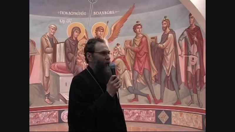 Презентация новой фрески о. Зинона (Теодора) [1.3.2015]